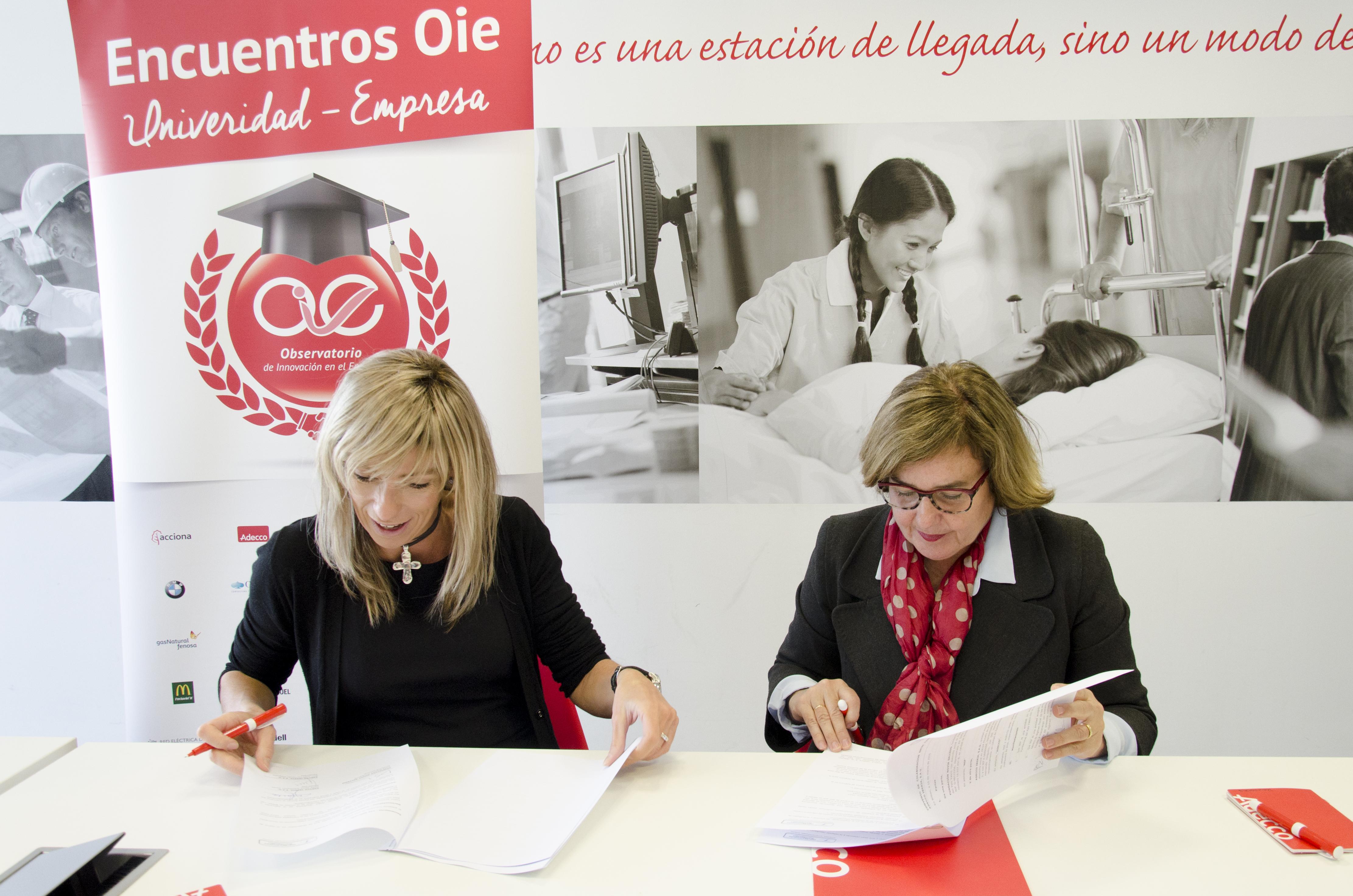 Firma convenio colaboracion con Adecco
