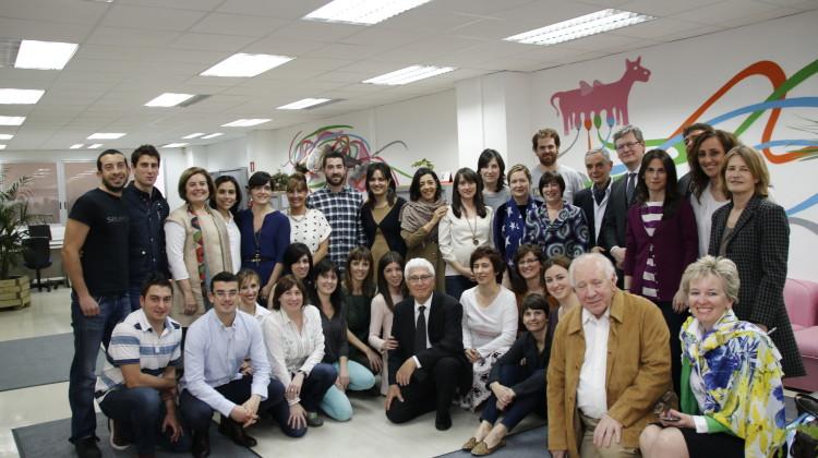 Lázsló Andor en Novia Salcedo Fundación