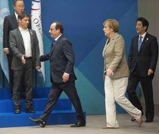 Ban Ki-Moon y G20