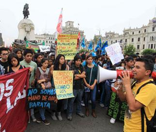 Reformal laboral en Perú