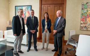 Firma Gobierno Vasco y Novia Salcedo