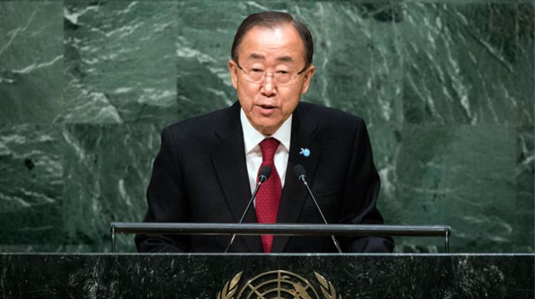 BanKi-moon en la apertura del debate general en la Asamblea