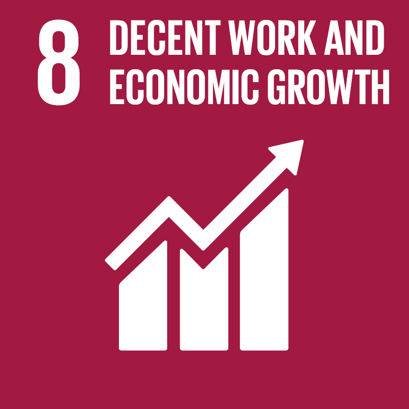 THEGLOBALGOALS 8 DECENT WORK AND ECONOMIC GROWTH
